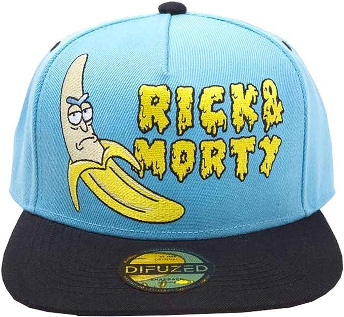 Rick and Morty - Gorra de béisbol, diseño con logotipo de Banana ...