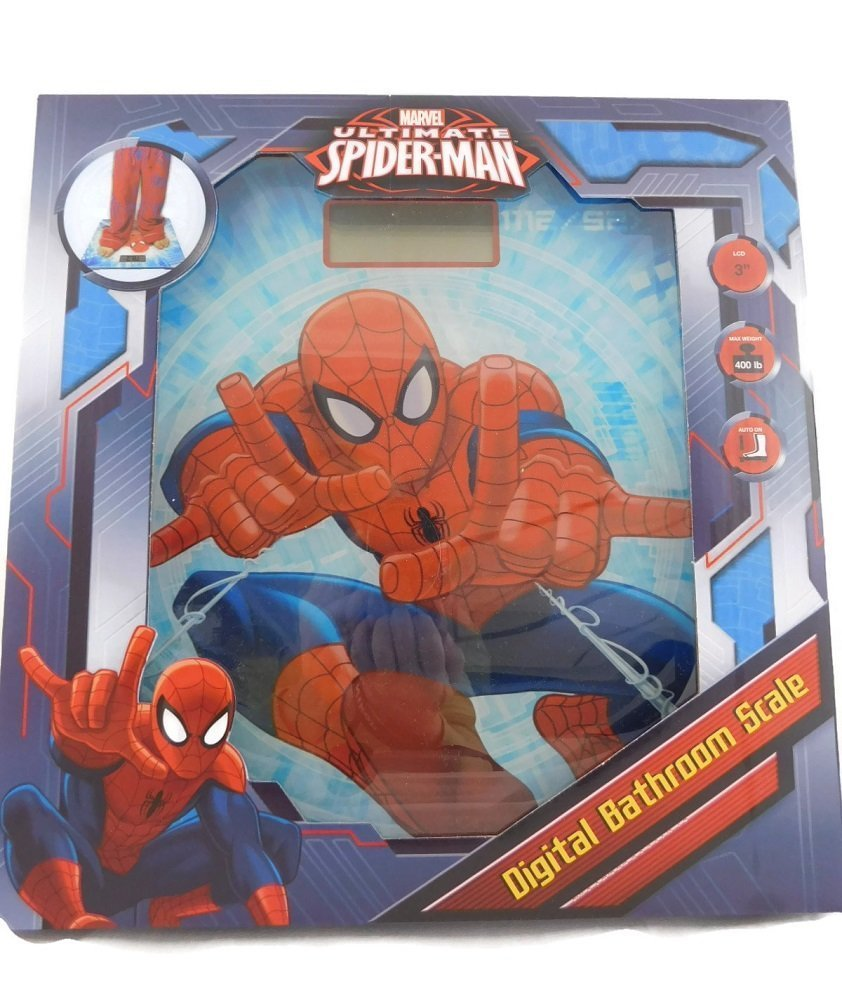 Ultimate Spider-man Digital Bathroom Scales