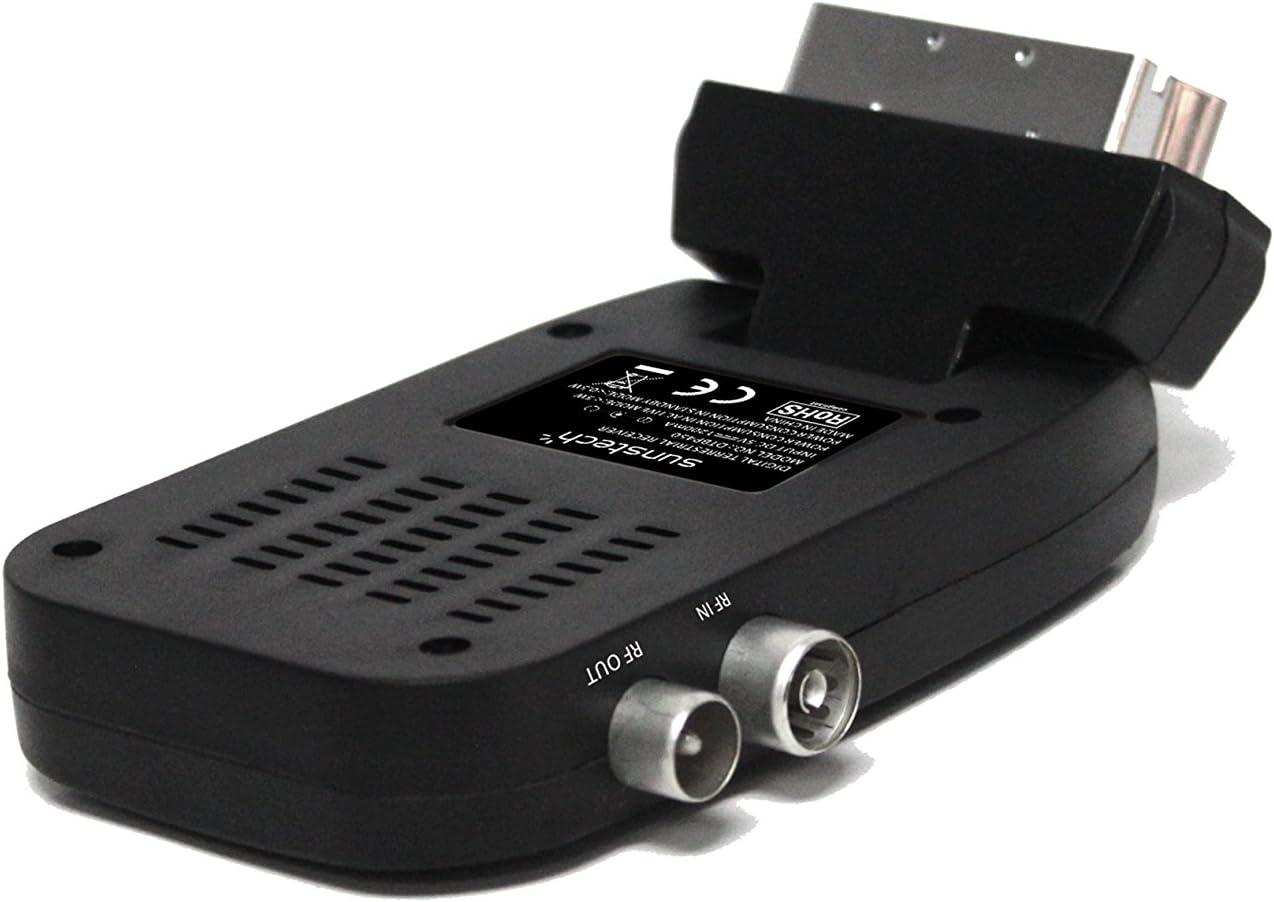 Sunstech DTBP470BK - Mini sintonizador de TV (TDT ...
