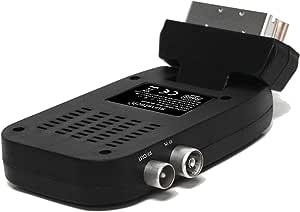 Sunstech DTBP470BK - Mini sintonizador de TV (TDT, euroconector ...