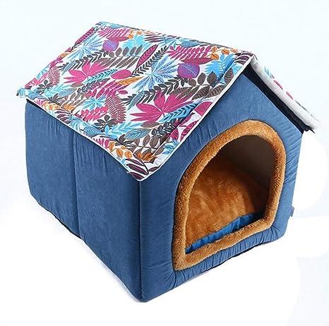SGT® Casa para Perro Cama Suave Productos caseta Mascotas Tiendas de campaña