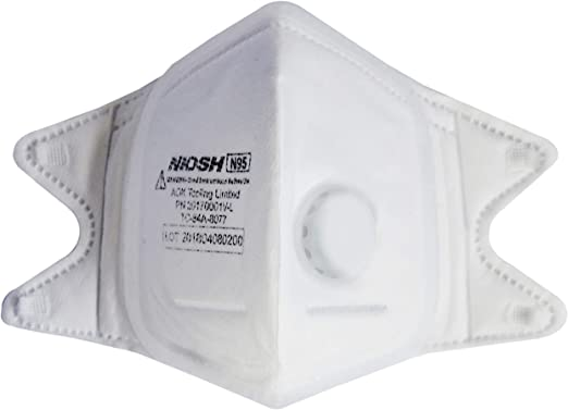 Sweat By Mask A And Silicone Patented Resistant Certified Respirator Seal Fit Perfect Fine Crush N95 For Mold small Particle Softseal