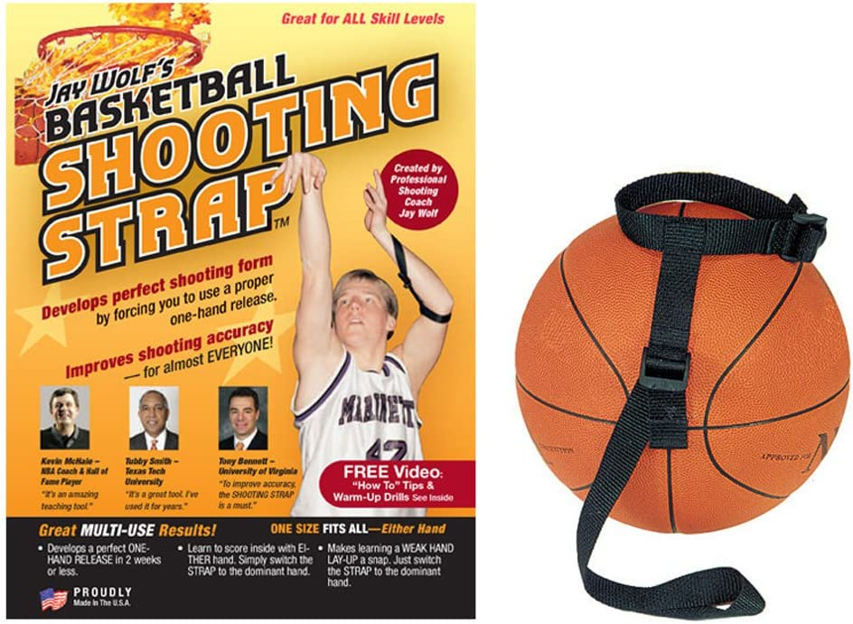 #2 Jay Wolf's Basketball Shooting Strap
