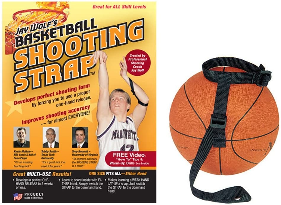 #4 Jay Wolf's Basketball Shooting Strap