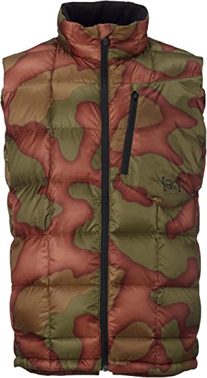 9323a6471f68 Amazon.com: Burton AK BK Down Insulator Vest Mens: Sports & Outdoors