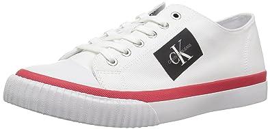 best sneakers 9328c 7bad8 Calvin Klein Men's Iziceio Canvas Sneaker