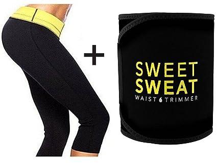 18fbdb8fb7 Buy VINGABOY Sweet Sweat Slimming Belt Tummy Trimmer Hot Body Shaper Slim  Belt Hot Waist Shaper Belt Instant Slim Look Belt for Women Online at Low  Prices ...