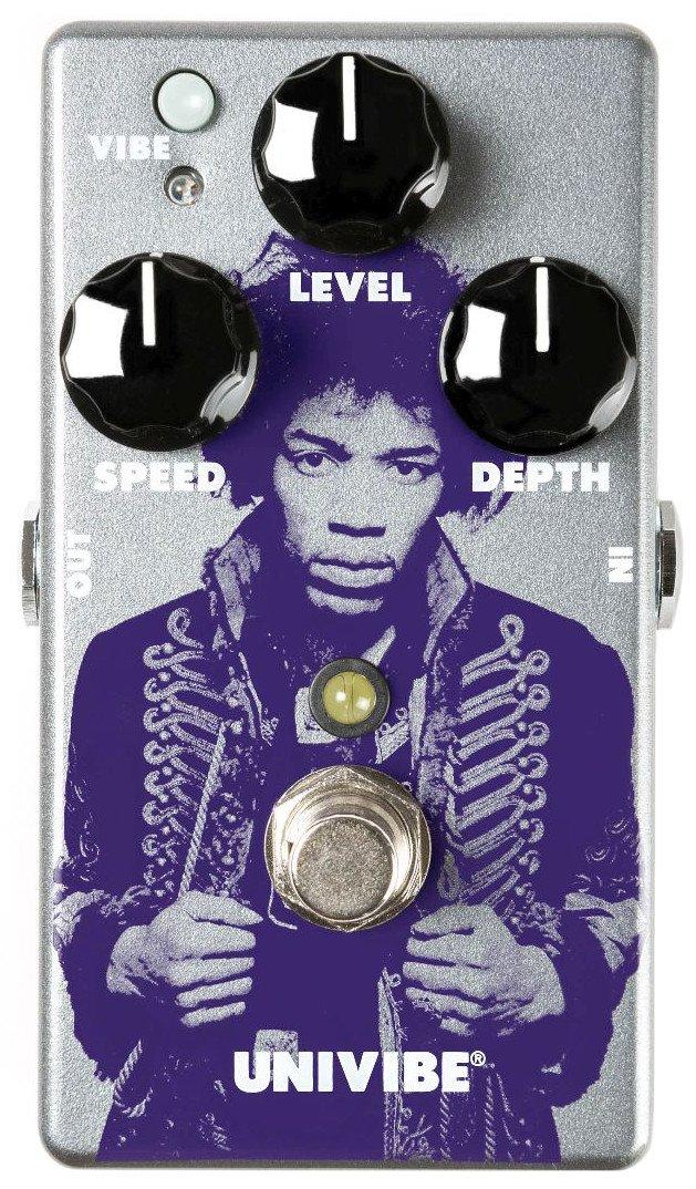 Dunlop JHM7 Jimi Hendrix Univibe Chorus/Vibrato Pedal w/Bonus Patch Cord & RIS Picks (x3) 710137098640 by Jim Dunlop