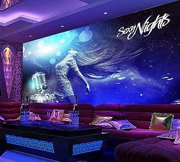 Yosot Cool Sexy Schöne Nachtclub Ktv Hintergrund Wand Foto Tapeten Hotel  Bar Wandbild Tapeten Karaoke 3D