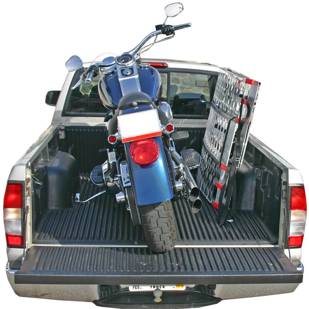 Black Widow 89'' Arched Folding Motorcycle Ramp System by Black Widow (Image #3)