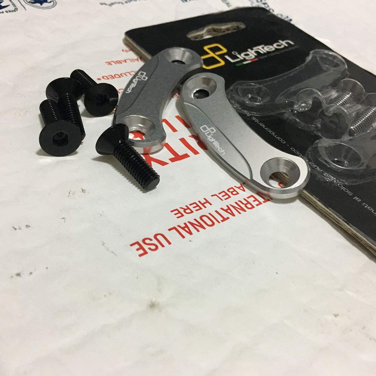LighTech Mirror Block Off Plates Black Mirror Cover Cap for Kawasaki ZX10R 11-15 Crazy Metalman