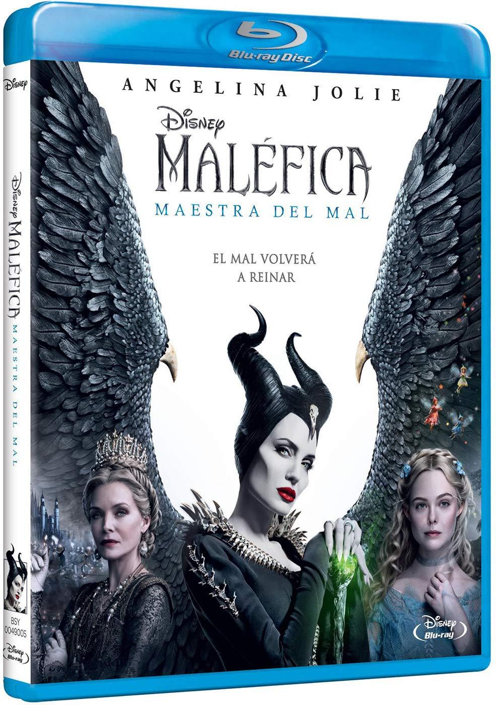Maléfica Maestra del Mal [Blu-ray]: Amazon.es: Angelina Jolie ...