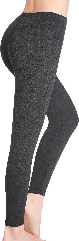 CnlanRow Donna Leggings alla Caviglia Elasticizzati Pantaloncini Sottogonna Sport Pants