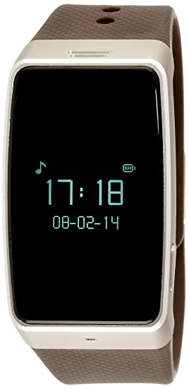 MyKronoz ZeWatch 3 - Reloj de actividad y sueño, color dorado y marrón: Amazon.es: Electrónica