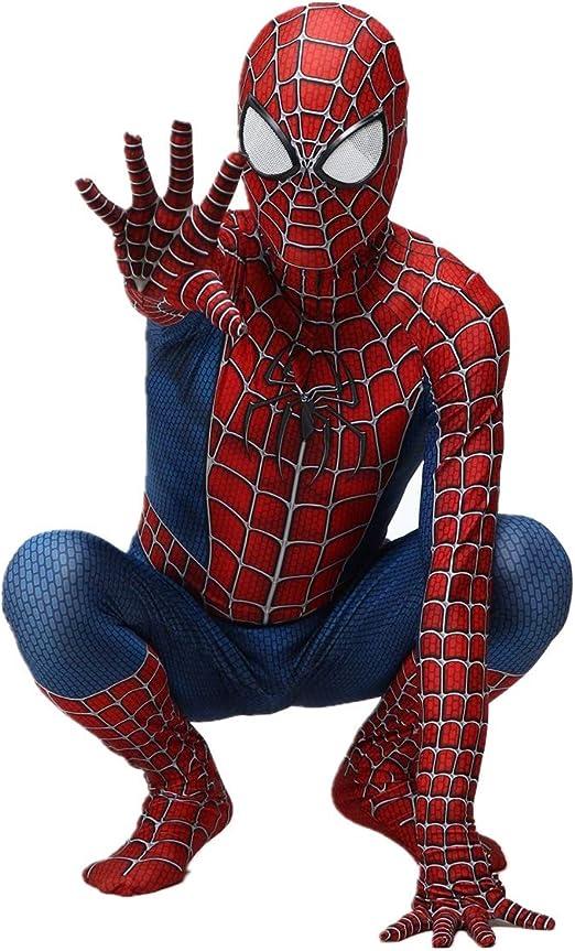 YUL Disfraz de Spiderman Disfraz de Spiderman Cosplay Zentai ...