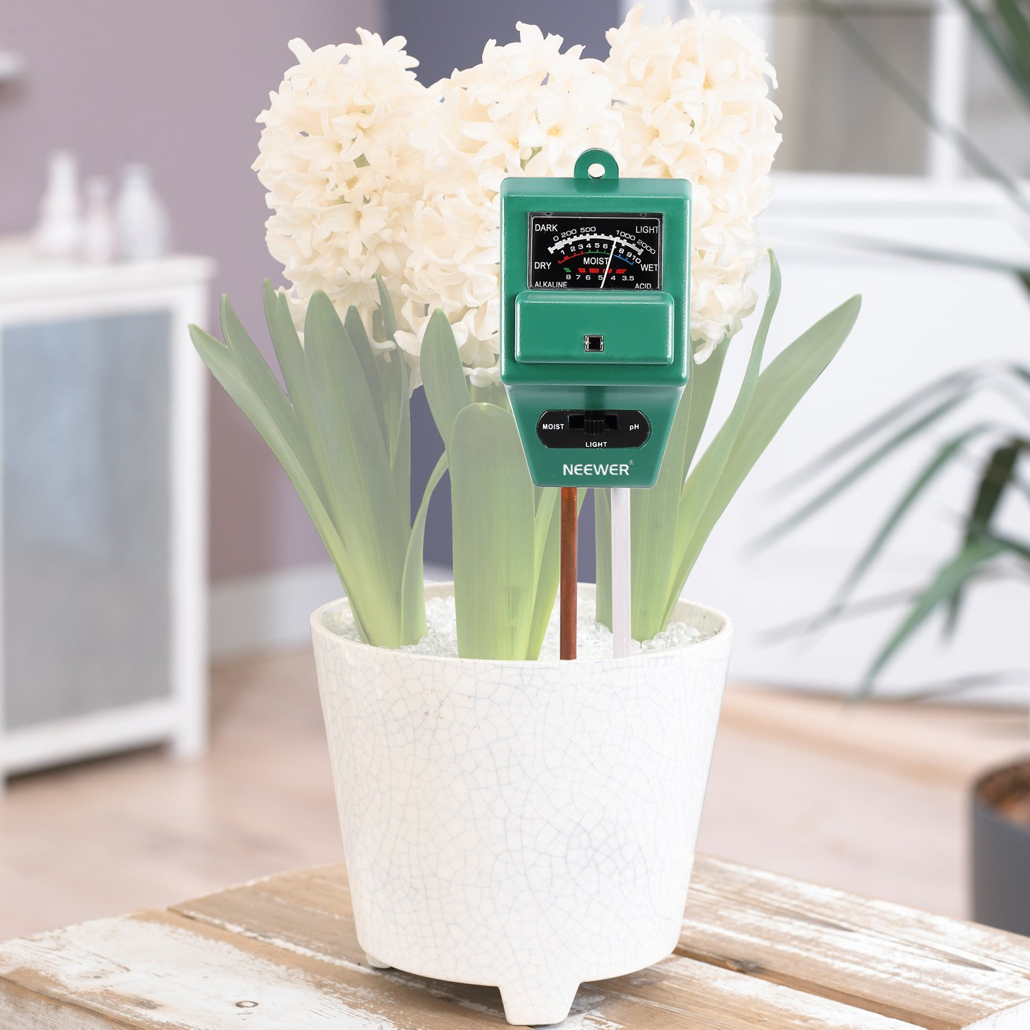 Bestdealusa Bestdealusa 3In1 Plant Flowers Soil Tester Moisture Light Ph Meter 40002011@@1