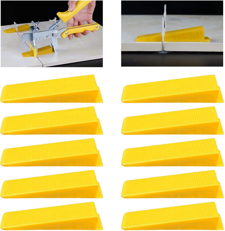 GLOBALDREAM Spacer Clips 1mm Alineaci/ón de Azulejos Sistema De Nivelaci/ón De Baldosas De Pl/ástico Reutilizable para La Instalaci/ón 100 piezas