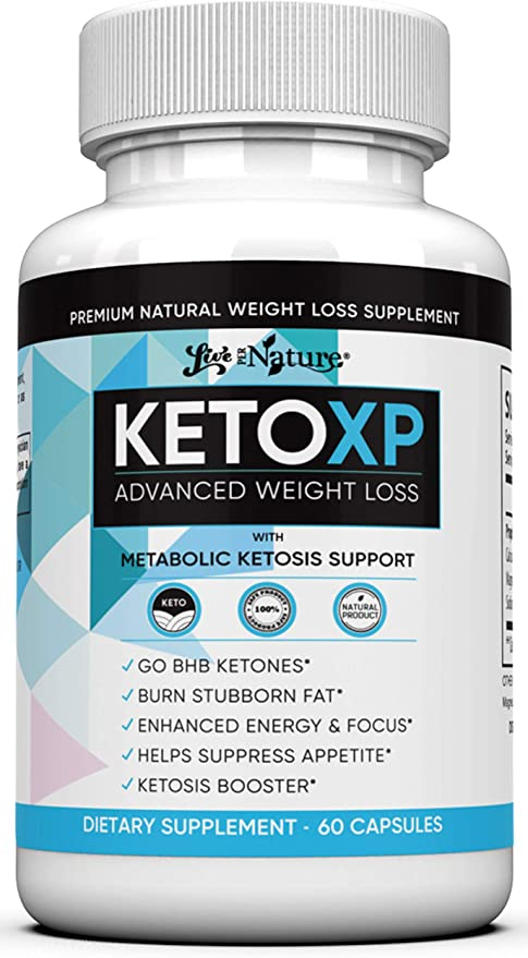 Amazon.com: Keto XP Advanced Weight Loss - Complete Keto Diet Pills Fast Rapid Burn Supplement 800mg: Health & Personal Care