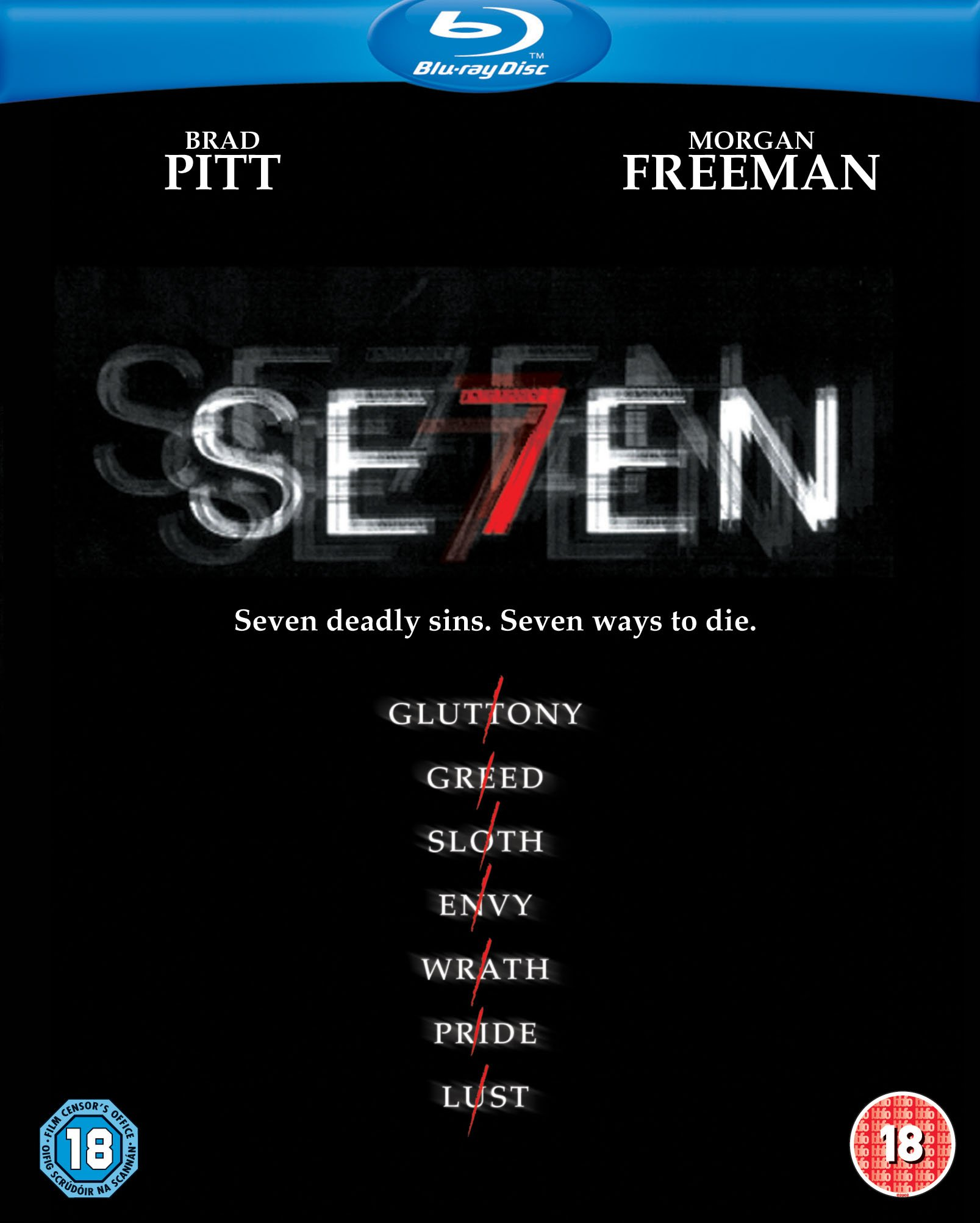 Seven [Blu-ray] [1995] [Region A & B & C]