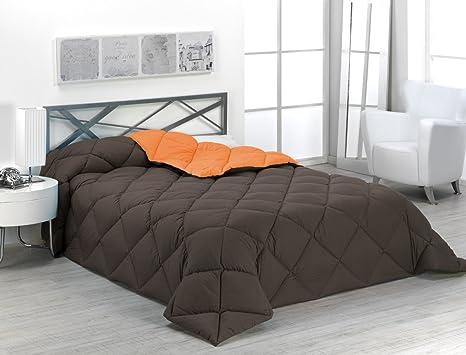 Sabanalia - Edredón nórdico de 400 g reversible (bicolor), para cama de 180