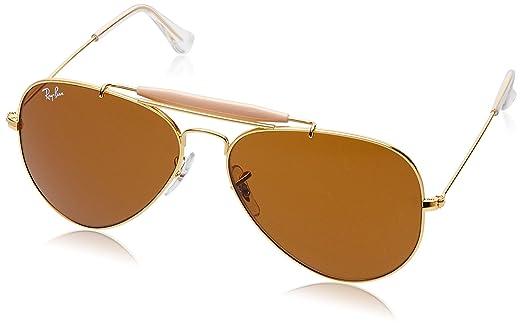 ray ban aviator mercury golden sunglasses