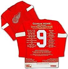 Gordie Howe Vintage Edition Wool Career Jersey - Signed Detroit Red Wings LTD /9