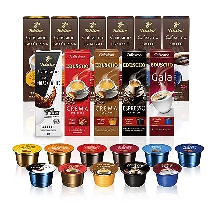 e6a6d05fae Tchibo Probierbox Cafissimo Kapseln in 11 verschiedenen Kaffeesorten, 110  Stück