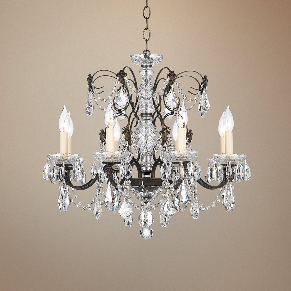 Schonbek century bronze 24 wide crystal chandelier amazon aloadofball Image collections