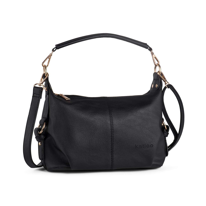 Amazon.com  Shoulder Purse for Women PU Leather Small Hobo Handbag Top  Handle Bag Crossbody Black + Katloo Nail Clipper  Shoes 4e9bb48eff4a0