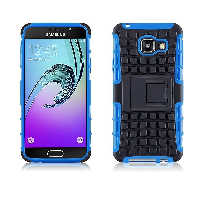 JAMMYLIZARD Outdoor Hülle für Samsung Galaxy A3 (6) 2016   Schutzhülle [Alligator] Doppelschutz Handyhülle Hardcase aus Polyc