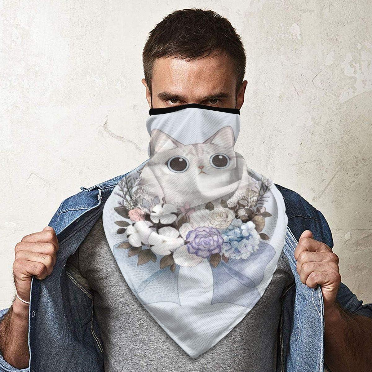 WU4FAAR - Bufanda para pasamontañas, diseño de gatos