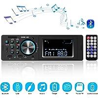Autoradio Bluetooth Radio para Coche, CENXINY Llamadas Manos