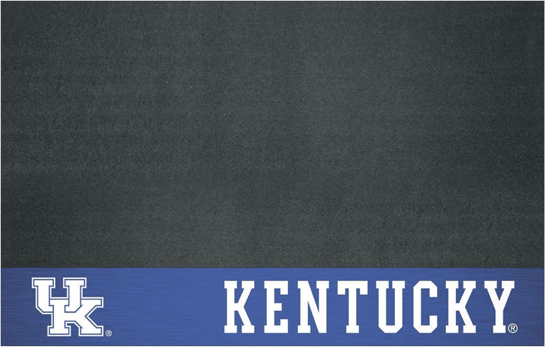 FANMATS 12122 NCAA University of Kentucky Wildcats Vinyl Grill Mat Black, 26