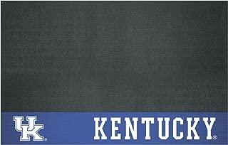 "product image for FANMATS 12122 NCAA University of Kentucky Wildcats Vinyl Grill Mat Black, 26""x42"""