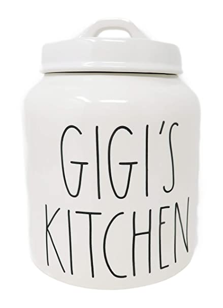 Amazon Com Rae Dunn By Magenta Gigi S Kitchen Ceramic Ll