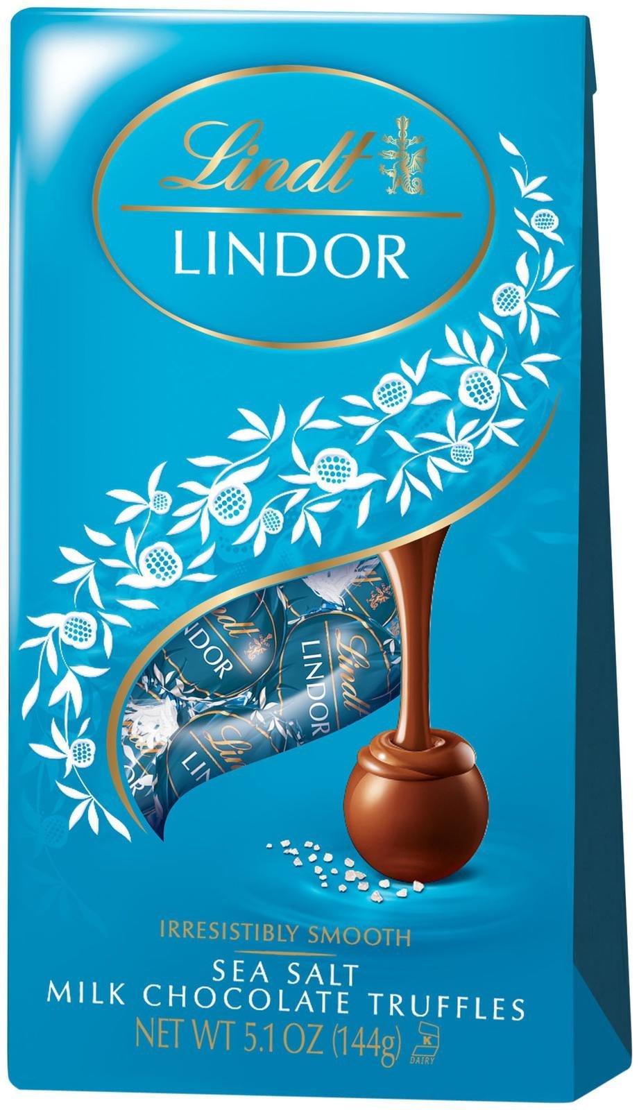 Lindt Lindor Truffles - Sea Salt Chocolate - 5.1 oz - 6 pk
