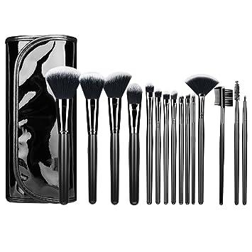 Luxspire Professionelle Make Up Pinsel Set 15 Teilige Schminkpinsel