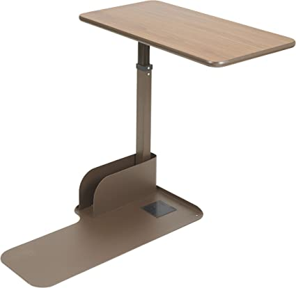 Amazon Com Drive Medical Seat Lift Chair Overbed Table Walnut Left Side Health Personal Care