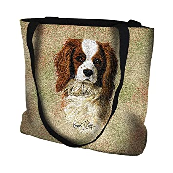 Pure Country Weavers Cavalier King Charles Spaniel Tote Bag 1148 B 17 Inches Wide By