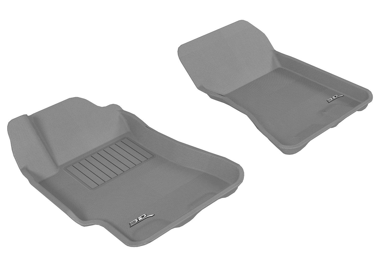 L1SB01001509 Kagu Rubber Black 3D MAXpider Complete Set Custom Fit All-Weather Floor Mat for Select Subaru Impreza Models