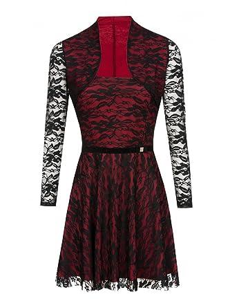 Kleid rot zweiteiler