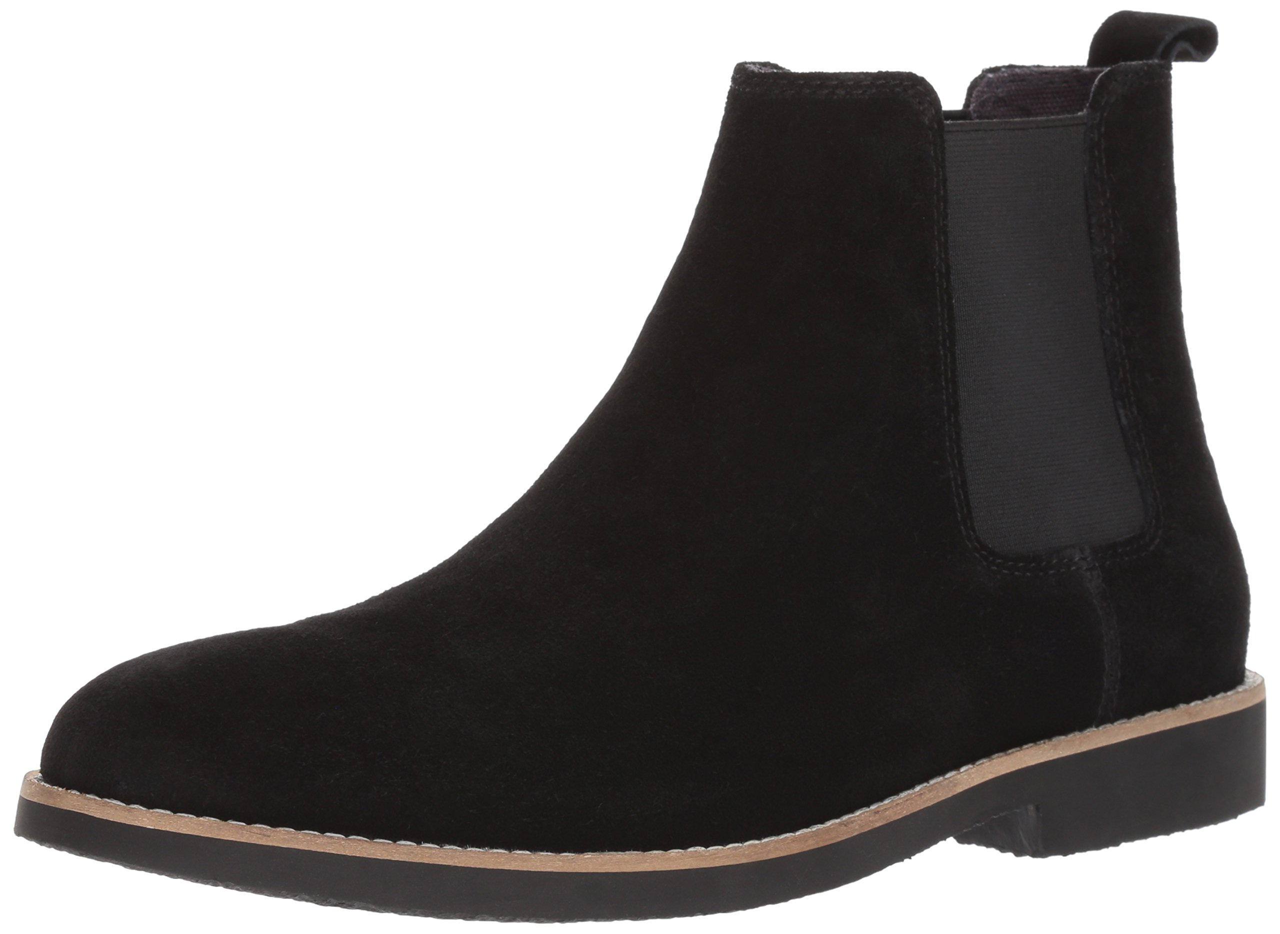 Dr. Scholl's Shoes Men's Credence Chelsea Boot, Black Suede, 10 M US