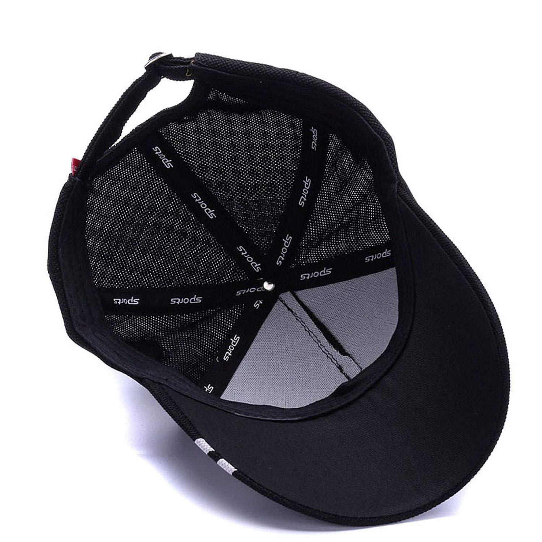 Wension Fashion Graffiti Baseball caps Women Outdoor Sports Hats Men Cap Gorras Summer Casual Running hat Black at Amazon Mens Clothing store: