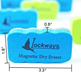 Lockways Magnetic Dry Eraser Set - Magnetic Dry
