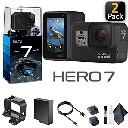 Amazon.com: GoPro HERO7 - Cámara de acción con funda para ...