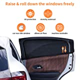 Car Window Shade for Baby (2 Packs), Breathable