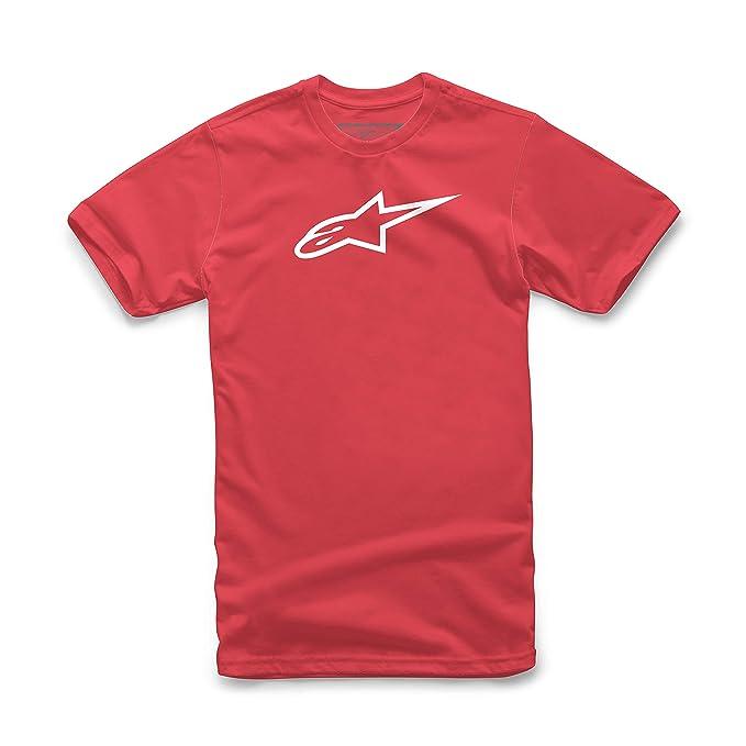 Con De Cuello Para Redondo Hombre Alpinestars Camiseta Corta Manga qSzGVpUM