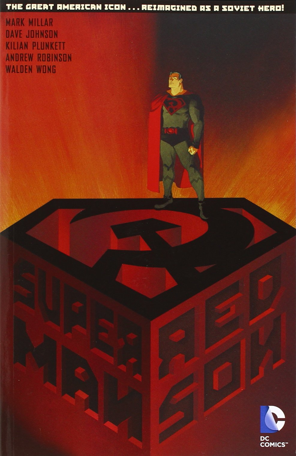 Amazon Com Superman Red Son 8601404298462 Millar Mark Johnson Dave Plunkett Kilian Books