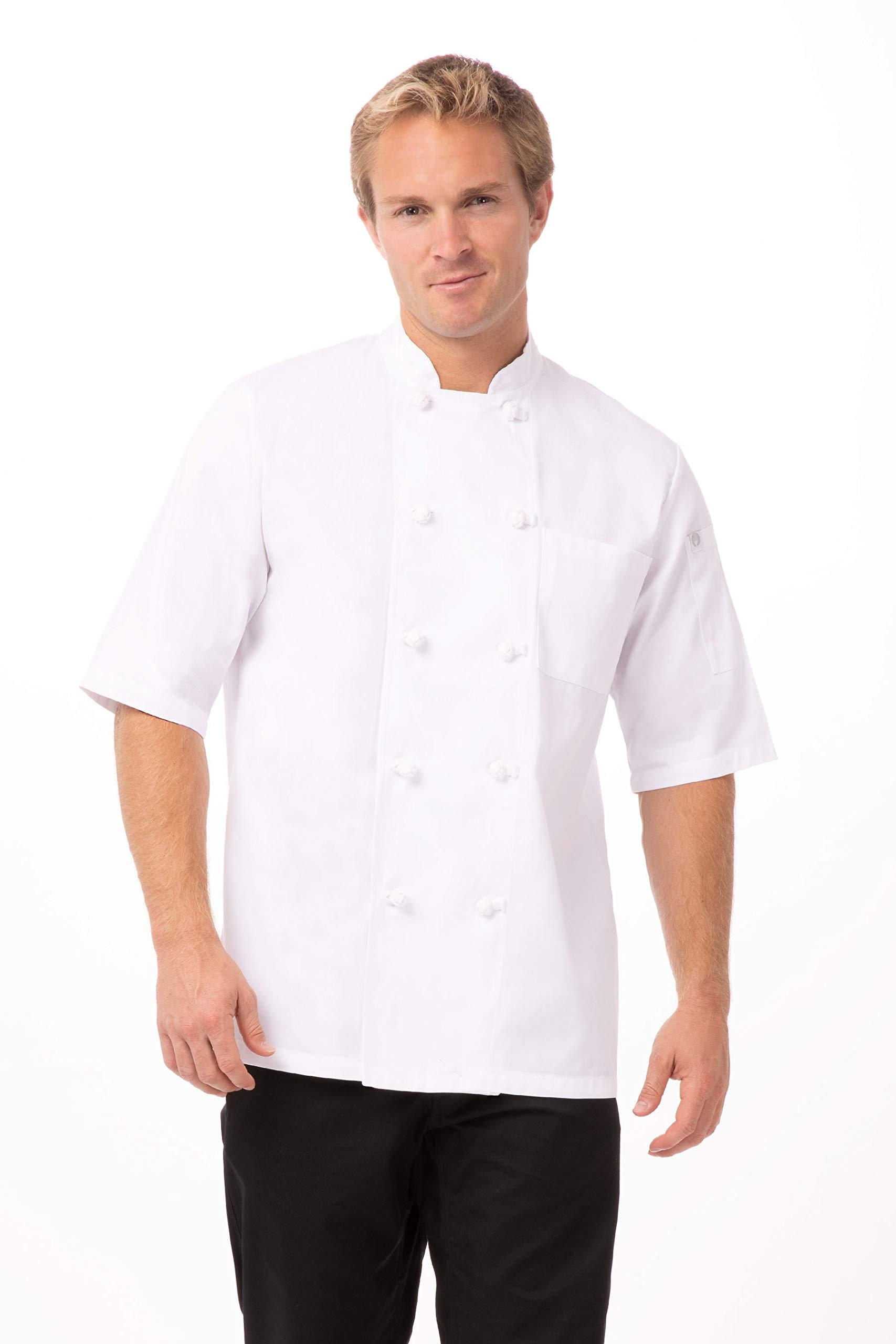 Chef Works Unisex Tivoli Chef Coat, White, 3X-Large by Chef Works