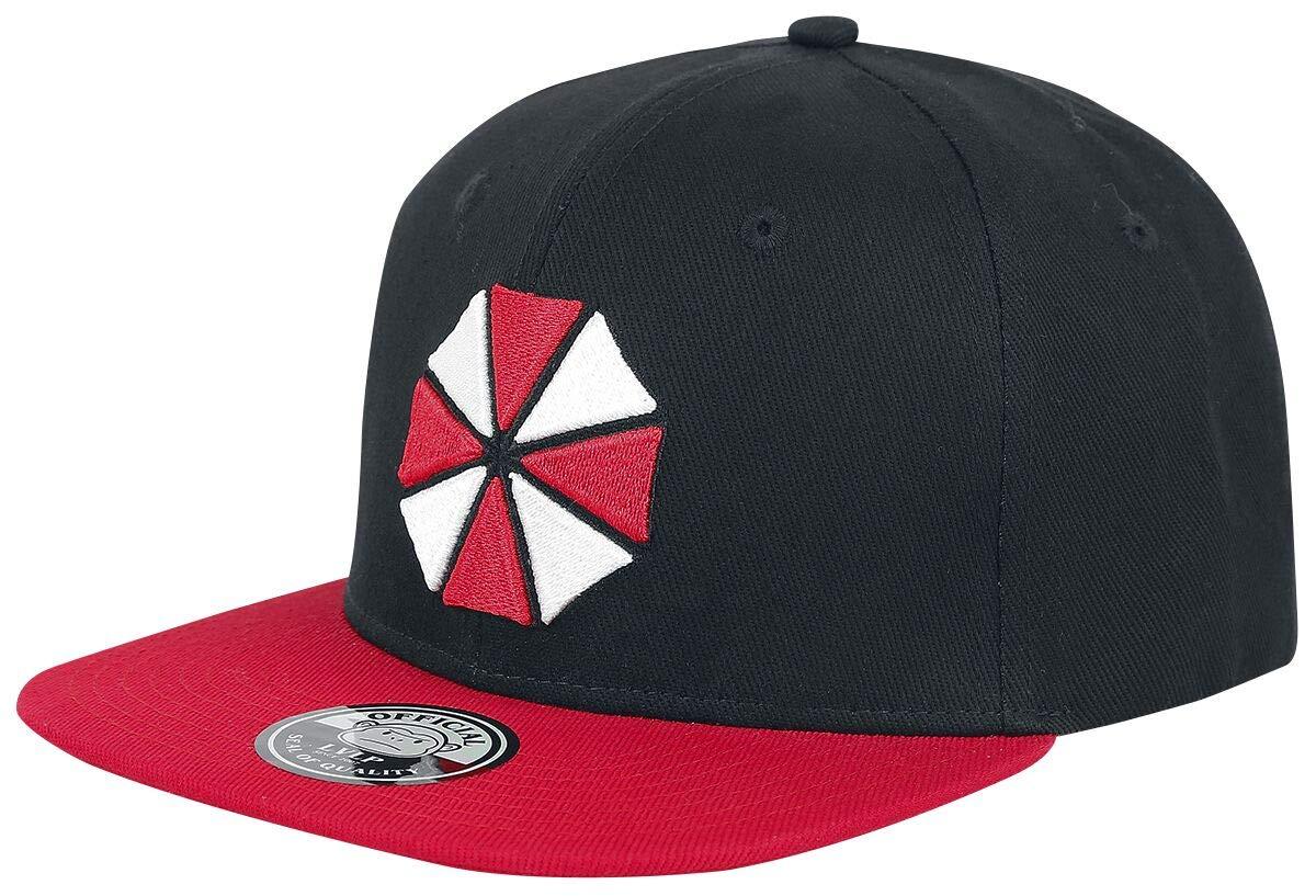 Sconosciuto Resident Evil Umbrella Logo Snapback cap Nero